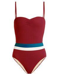 Zeus+Dione - Milos Striped Swimsuit - Lyst
