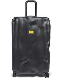 Crash Baggage Stripe 79 Suitcase - Black