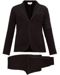 Thom Browne - Four Bar Cotton Loop Back Jersey Suit - Lyst