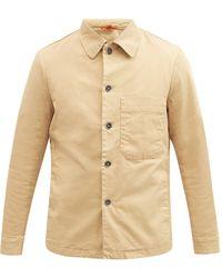 Barena Rocheo Cotton-twill Overshirt - Natural