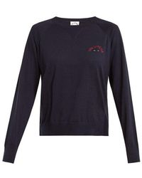 The Upside - Wilder Cotton Jersey Sweatshirt - Lyst