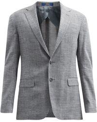 Polo Ralph Lauren スラブ シングルジャケット - グレー