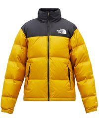 The North Face 1996 ヌプシ ダウンジャケット - イエロー