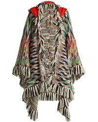 Missoni - Fringed Knit Wrap - Lyst