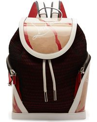 Christian Louboutin - Kraft Explorafunk Chunky-knit Backpack - Lyst