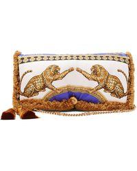 Versace - Pillow Talk Signature Dea Print Bag - Lyst