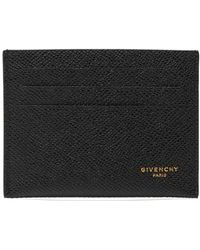 Givenchy - Logo-printed Leather Cardholder - Lyst
