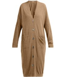 Queene And Belle - Kennedy Long Wool Cardigan - Lyst