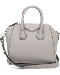 Givenchy - Antigona Mini Grained-leather Bag - Lyst