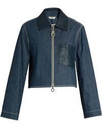 Edun - Point-collar Patch-pocket Denim Jacket - Lyst