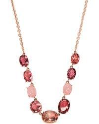 Irene Neuwirth - Opal, Tourmaline & Rose Gold Necklace - Lyst