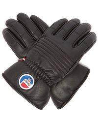 Fusalp - Leather Ski Gloves - Lyst