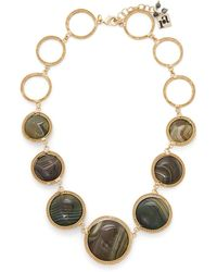 Rosantica By Michela Panero - Carramato Bead Embellished Necklace - Lyst