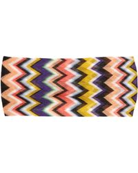Missoni - Multicoloured Zigzag Headband - Lyst
