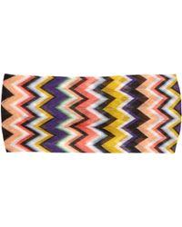 Missoni - Multicoloured Zigzag Headband - Lyst