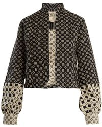 Ace & Jig - Jude Stand Collar Cotton Jacket - Lyst