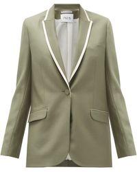 Pallas グラスゴー ウールシングルジャケット - グリーン