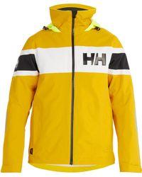 Helly Hansen - Salt Flag Hooded Waterproof Jacket - Lyst