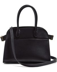 The Row - Margaux 10 Leather Bag - Lyst
