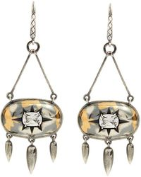 Bottega Veneta - Stellular Cubic-zirconia Drop-earrings - Lyst