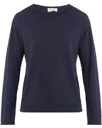 American Vintage - Long-sleeved Cotton T-shirt - Lyst