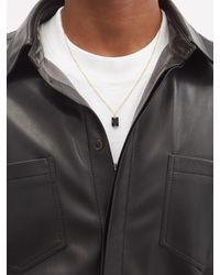 Miansai Lennox Onyx & Gold-vermeil Necklace - Black