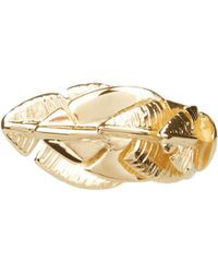 Aurelie Bidermann - Talitha Gold-plated Ring - Lyst