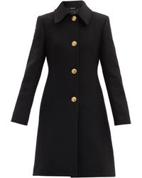 Givenchy - チェーン バージンウールカシミア シングルコート - Lyst
