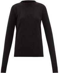 Rick Owens カシミアウールセーター - ブラック