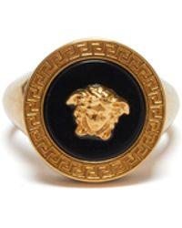 Versace - Resin Medusa Ring - Lyst