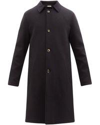 Marni コットン シングルコート - ブラック