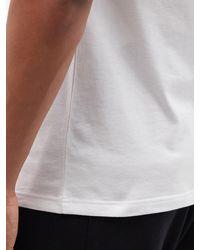 Alexander McQueen スカル コットンtシャツ - ホワイト