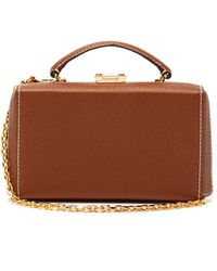 Mark Cross Grace Gold-plated Leather Belt Bag - Brown