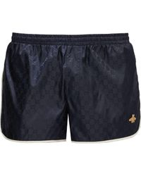 Gucci GG Quick-drying Swim Shorts - Blue