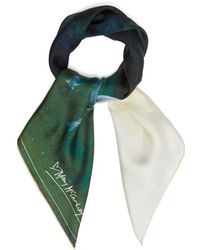 Mary McCartney - Into The View Print Silk Scarf - Lyst