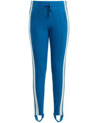Étoile Isabel Marant Doriann Stripe-trimmed Track Pants - Blue