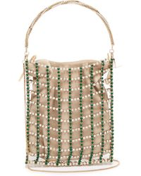 Rosantica By Michela Panero - Rousseau Crystal Caged Clutch Bag - Lyst