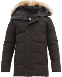 Canada Goose Carson Quilted-down Parka - Black