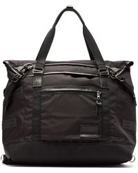 Master Piece Potential V2 Nylon Tote Bag - Black