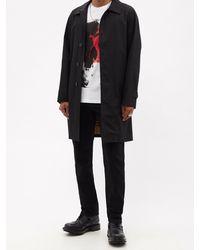 Alexander McQueen グラフィティスカル コットンtシャツ - マルチカラー