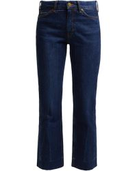 M.i.h Jeans - Daily Crop High Rise Straight Leg Jeans - Lyst