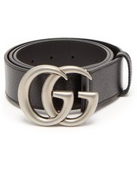Gucci - Ceinture en cuir GG - Lyst