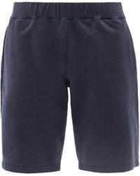 Sunspel ミッドライズ コットンジャージー ショートパンツ - ブルー