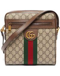 Gucci GGジャカード キャンバスクロスボディバッグ - マルチカラー
