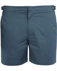 Orlebar Brown Short de bain Bulldog - Bleu