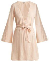 Skin - Karin Pima Cotton Robe - Lyst