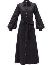 Racil セルマン カットアウト シャツドレス - ブラック