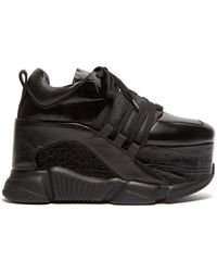 Marques'Almeida - Platform Leather Sneakers - Lyst