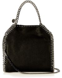 Stella McCartney | Falabella Mini Faux-suede Cross-body Bag | Lyst