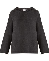 Allude | Hooded Wool-blend Sweater | Lyst